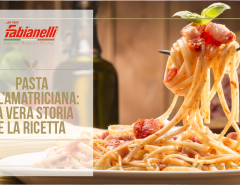 pasta all'amatriciana cover